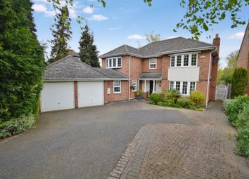 Thumbnail 5 bedroom detached house for sale in Meadowcourt Road, Oadby, Leicester