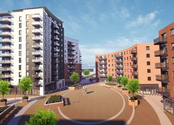 Thumbnail 2 bed flat for sale in Centenary Plaza, Woolston, Southampton