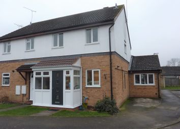 Thumbnail 4 bed semi-detached house for sale in Kingfisher Way, Alcester