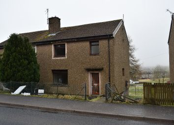 Thumbnail 3 bed semi-detached house for sale in Ashmark Avenue, Cumnock, East Ayrshire