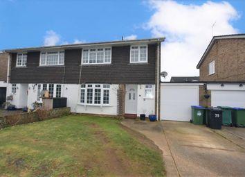 Thumbnail Semi-detached house for sale in Ambleside Avenue, Telscombe Cliffs