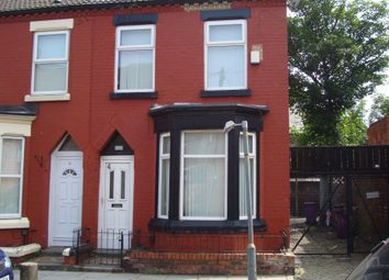 Thumbnail 3 bed terraced house to rent in Halsbury Road, Liverpool