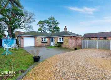 Thumbnail 4 bed detached bungalow for sale in Holm Oak Gardens, Swaffham, Norfolk