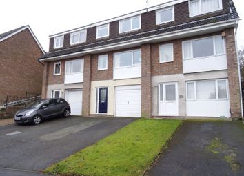 Thumbnail 3 bed town house for sale in Abbey Road, Macclesfield