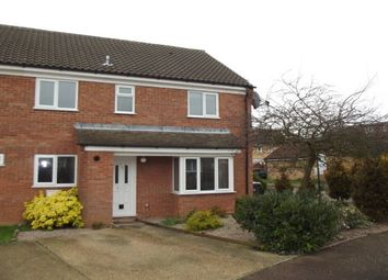 Thumbnail 2 bedroom property to rent in Lincoln Crescent, Biggleswade