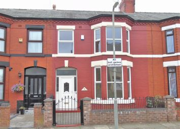Thumbnail 4 bed terraced house for sale in Wyresdale Road, Aintree, Liverpool