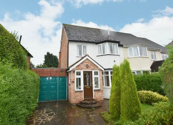 Thumbnail 3 bed semi-detached house for sale in Wherretts Well Lane, Solihull