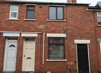 Thumbnail 2 bed end terrace house to rent in Percy Street, Derby