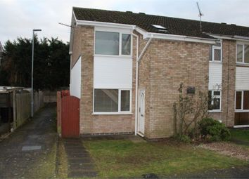 Thumbnail 2 bed end terrace house for sale in Uppingham Drive, Broughton Astley, Leicester