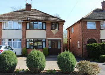 Thumbnail 3 bed semi-detached house for sale in Denise Drive, Harborne, Birmingham