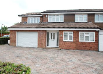 Thumbnail 4 bed property for sale in Chevington Way, Hornchurch