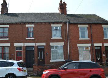 Thumbnail 2 bedroom terraced house for sale in Chapel Street, Bignall End, Stoke-On-Trent