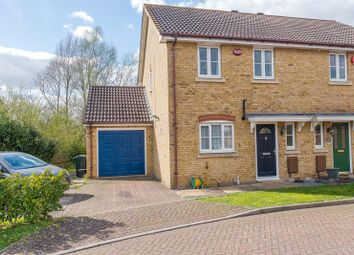 Thumbnail 3 bed semi-detached house for sale in Faustina Drive, Ashford, Kent
