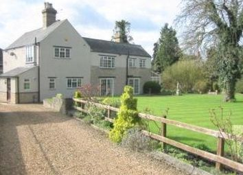 Thumbnail 4 bed detached house to rent in Main Street, Polebrook, Peterborough