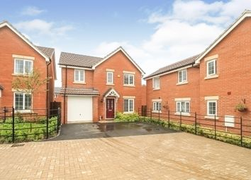 Thumbnail 4 bed detached house for sale in Holmoak Road, Raunds, Wellingborough