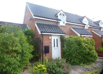 Thumbnail 2 bed end terrace house to rent in Rose Lane Close, Palgrave, Diss