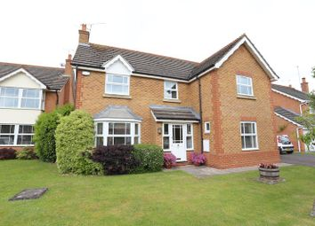Thumbnail 4 bed detached house for sale in Firmstone Close, Lower Earley, Reading