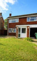 Thumbnail 3 bed semi-detached house to rent in Meadowvale Close, Ipswich, Suffolk