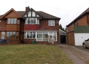 Thumbnail 3 bed semi-detached house for sale in Stechford Road, Hodge Hill, Birmingham