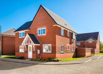 "Thumbnail 4 bedroom detached house for sale in ""Lincoln"" at Saxon Court, Bicton Heath, Shrewsbury"