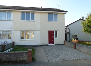 Thumbnail 3 bed semi-detached house for sale in Bro Tudur, Llangefni, Anglesey
