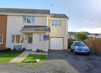 Thumbnail 3 bed semi-detached house for sale in Clos Morgan, Llanbadarn Fawr, Aberystwyth