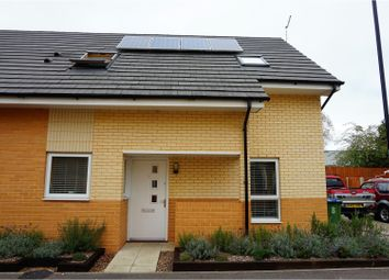 Thumbnail 2 bed semi-detached house for sale in Flanders Field Close, Southampton