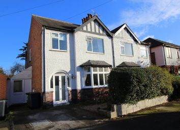 Thumbnail 3 bed semi-detached house for sale in Willoughby Road, West Bridgford, Nottingham