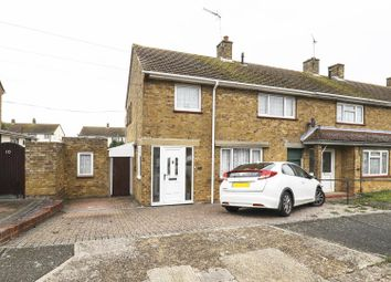 Thumbnail 3 bed end terrace house for sale in Kent Avenue, Sittingbourne
