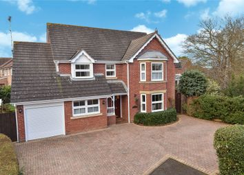 Thumbnail 4 bed detached house for sale in Jigs Lane South, Warfield, Berkshire