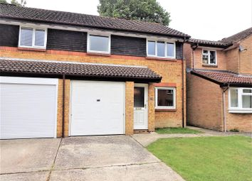 Thumbnail 3 bed semi-detached house for sale in Chepstow Close, Worth, Crawley