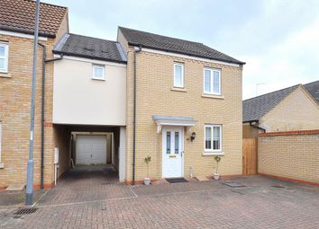 Thumbnail 3 bed semi-detached house for sale in Meadow Rise, Hinchingbrooke, Huntingdon, Cambridgeshire
