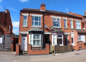Thumbnail 3 bedroom terraced house to rent in Victoria Road East, Leicester