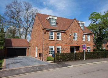 Thumbnail 5 bed detached house for sale in Bramwell Way, Bollin Park, Wilmslow