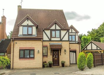 Thumbnail 4 bed detached house for sale in Manor Garden, Swindon