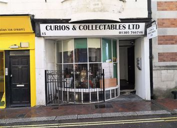 Thumbnail Retail premises for sale in Bond Street, Weymouth