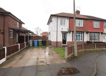 Thumbnail 3 bed semi-detached house to rent in Bude Avenue, Urmston, Manchester