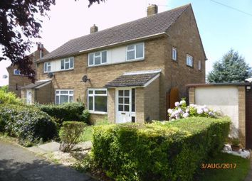 Thumbnail 3 bed semi-detached house to rent in Linworth Road, Bishops Cleeve, Cheltenham