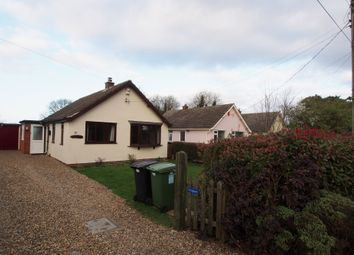 Thumbnail 2 bed detached bungalow to rent in School Lane, Little Melton, Norwich