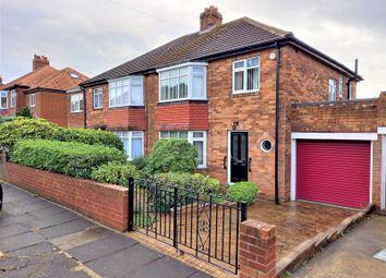 Thumbnail 3 bed semi-detached house for sale in Ridgeway, Fenham, Newcastle Upon Tyne