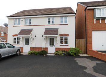 Thumbnail 2 bed semi-detached house for sale in Kielder Drive, Yarnfield, Stone