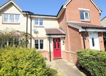 Thumbnail 2 bed terraced house for sale in Hood Drive, Great Blakenham, Ipswich, Suffolk