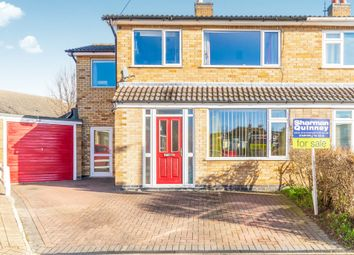 Thumbnail 4 bedroom semi-detached house for sale in Elton Close, Stamford