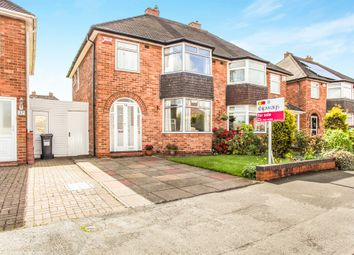 Thumbnail 3 bed semi-detached house for sale in Fernhill Road, Solihull