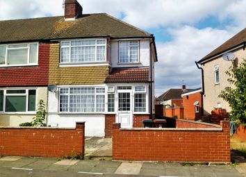 Thumbnail 3 bed semi-detached house to rent in Meadow Road, Feltham