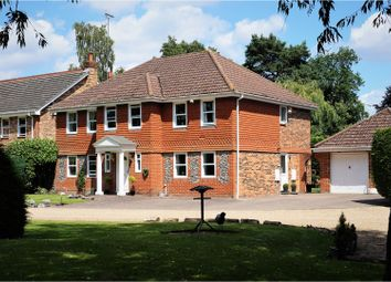 Thumbnail 5 bed detached house for sale in Attenborough Close, Fleet