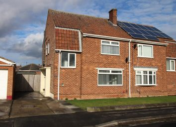 Thumbnail 2 bed semi-detached house for sale in Corfe Crescent, Billingham