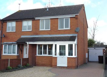 Thumbnail 2 bed semi-detached house for sale in Leconfield Close, Lincoln