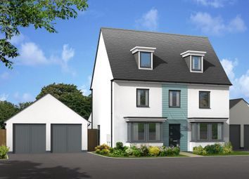 "Thumbnail 5 bed detached house for sale in ""Emerson"" at Church Close, Ogmore-By-Sea, Bridgend"