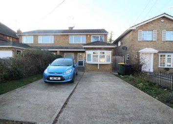 Thumbnail 4 bed semi-detached house for sale in The Chase, Rayleigh